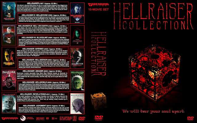 Hellraiser Collection DVD Cover