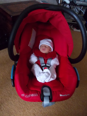 carseat newborn baby boy