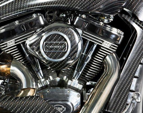 Mansory custom Zapico motorcycle