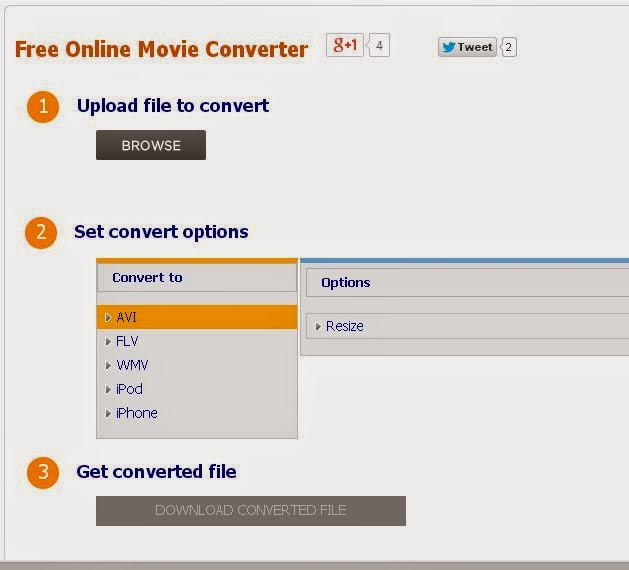 Free Online Movie Converter All Video Files To Flv Wmv Ipod And Iphone
