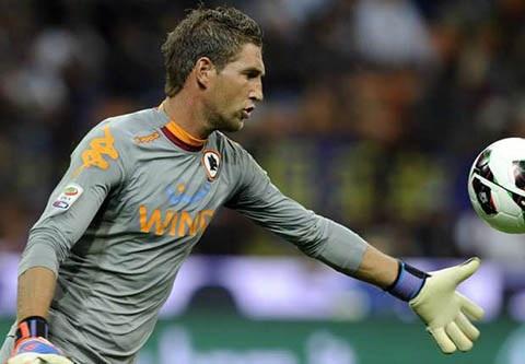 Maarten Stekeleburg là thủ môn số 1 của Ajax