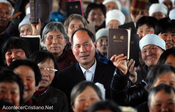 Crecimiento de cristianos en China