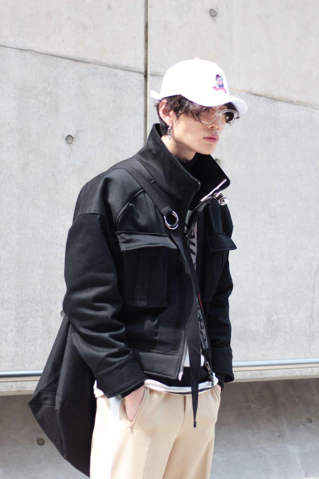 kim junsu model off duty seoul fashion week streetstyle fw17