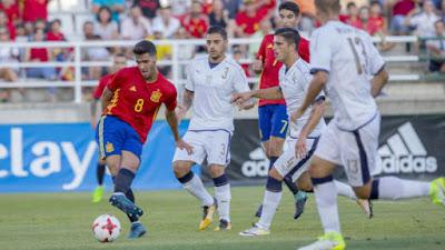 Spain vs Italy U-21 2017 Friendly game