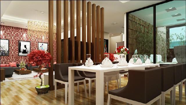 Thiết kế nội thất chung cư Ngoại Giao Đoàn mang phong cách sang trọng