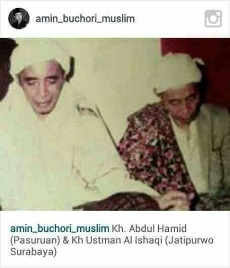 """Persahabatan Dunia Akherat """"Mbah Yai Utsman al-Ishaqi dan Mbah Yai Hamid Pasuruan"""""""