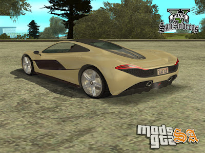 Progen T20 do GTA V para GTA San Andreas