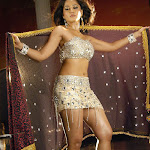 Anushka Hot Navel Show Photos