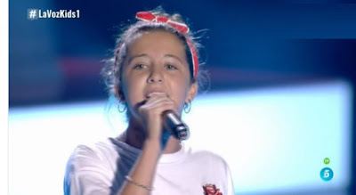 Valentina: The Shoop Shoop Song |  Audiciones a ciegas La Voz Kids