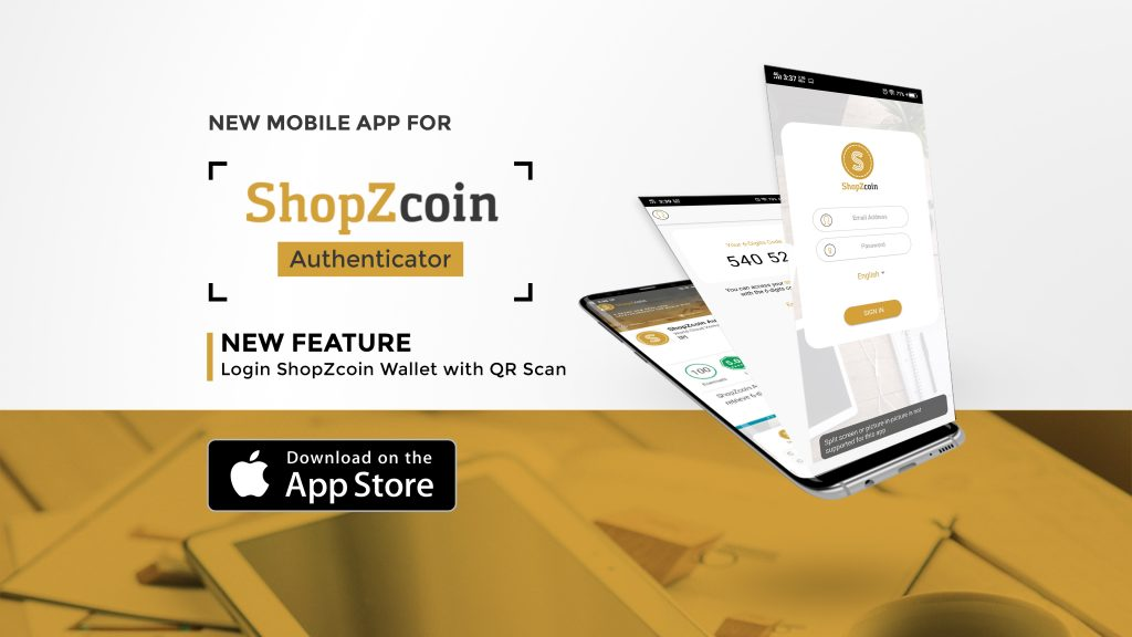 Click Club International: ShopZcoin Authenticator is
