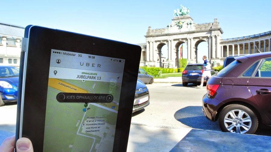 終結爭議!歐盟首都警局查扣 Uber Taxi 與司機