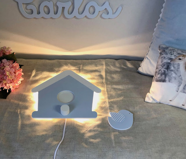 APLIQUES INFANTILES de pared con luz LED
