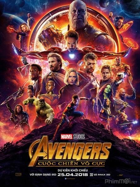 Biet doi sieu anh hung 3: Cuoc chien vo cuc - Avengers 3: Infinity War 2018 Vietsub