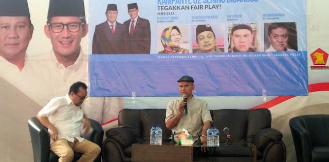 Gangguan Kampanye Justru Menguntungkan Prabowo