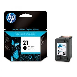 Cartridge Hp 21 Black Original Bali