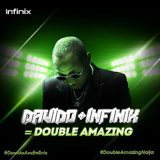 Davido + infinix
