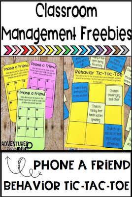 Need some new ideas for classroom management?  Try out these awesome freebies and read all about my 4 classroom management must do's!