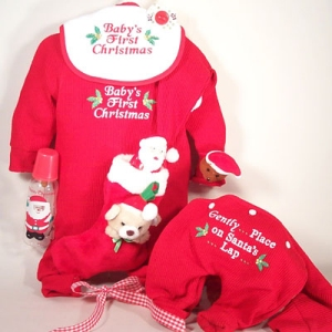 5 MustHaves for Babys First Christmas  Lets Celebrate