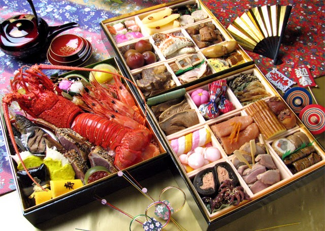 Japanese traditional New Year food Osechi Unique Japan Tours