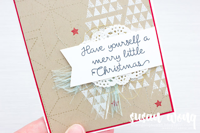 Christmas Quilt Stamp Set - Stamping Susan Wong