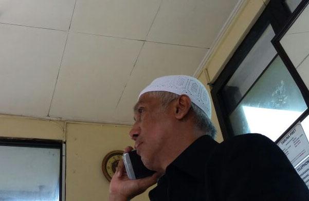 Petugas Mako Brimob Larang TPM Temui Sekjen FUI, Ada Apa?