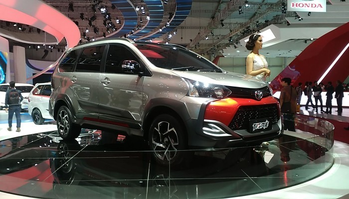Toyota Grand New Veloz Price In India Fitur All Kijang Innova Ms Blog Especially For An Appearance At 2016 Giias Astra Motor Design Modifications 1 3 A T Dubbed Tigre As The Theme Is Tough And
