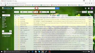 forward multiple mails at once