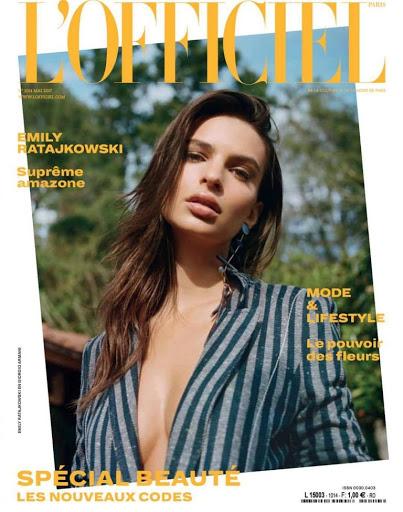 Emily Ratajkowski – L'Officiel Magazine May 2017 photoshoot