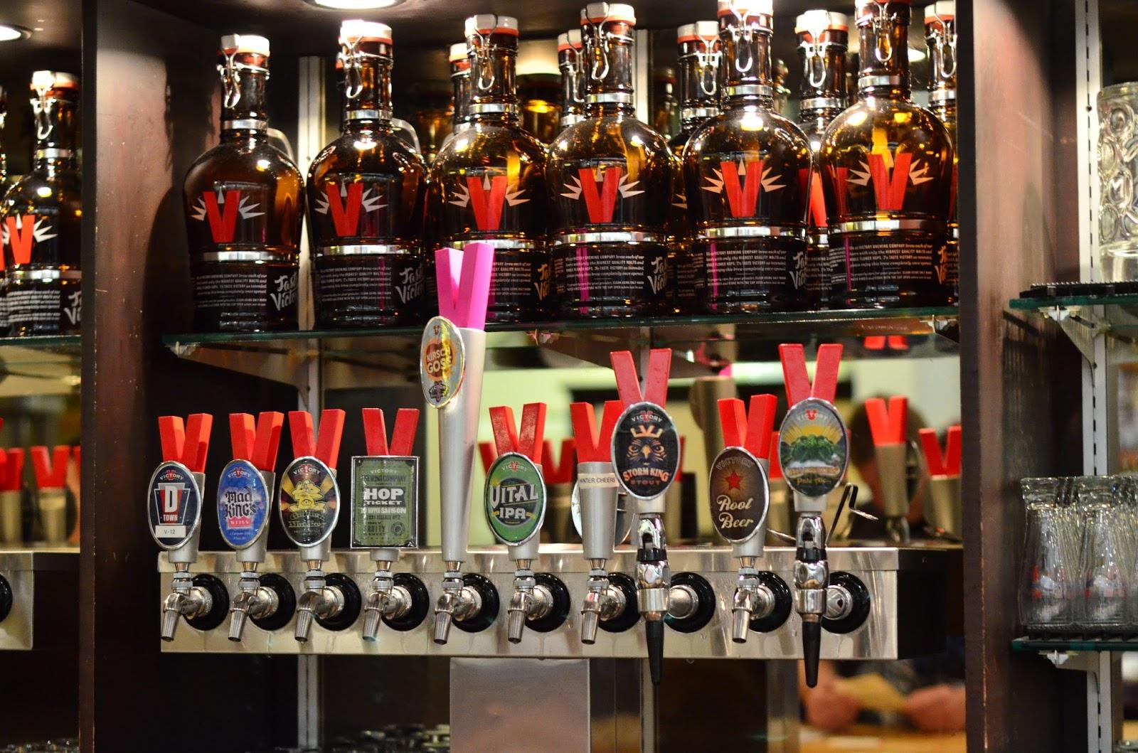 Burgers And Brews Food Reviews Victory Brewing Company Downingtown Pa