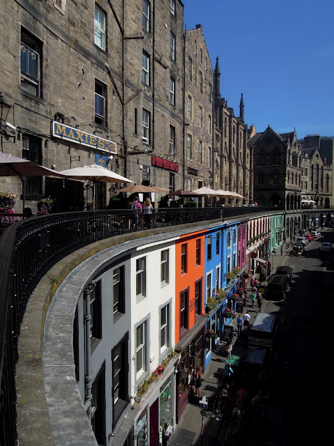 uliczka w Edynburgu