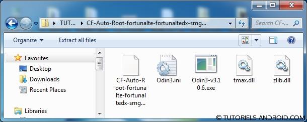 Fichiers Cf-Auto-Root Grand Prime