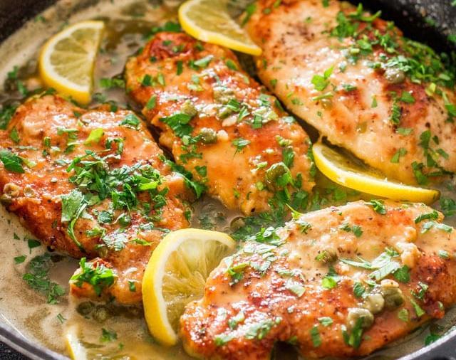 pollo al limon horneado receta