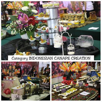 Raih gold medal kategori indonesian canape creation for Canape jakarta
