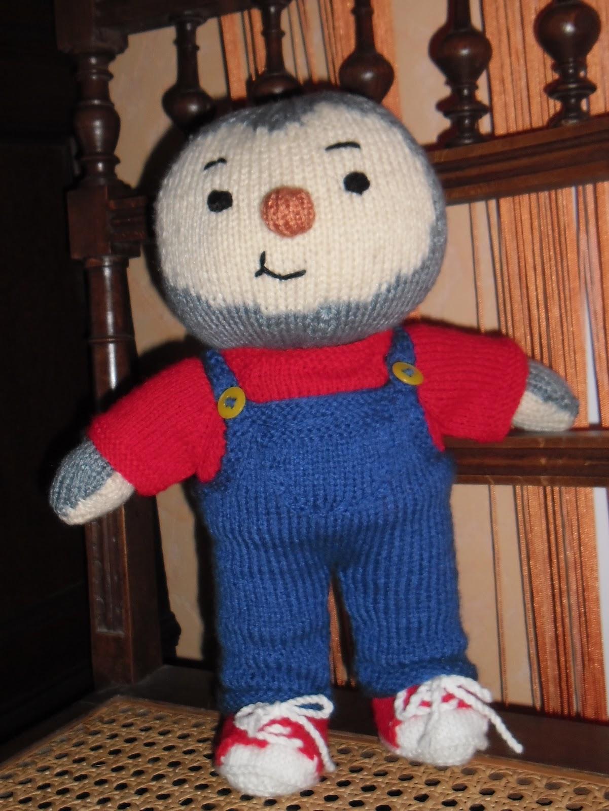 Du tricot et des jouets tchoupi et son doudou - Tcoupie et doudou ...