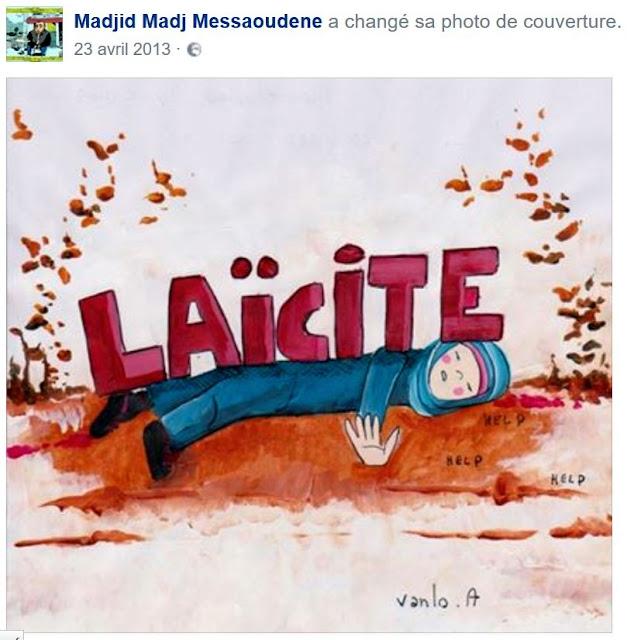 La laïcité selon Madjid Messaoudene