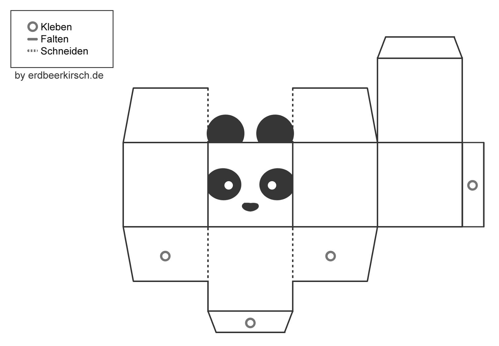 Großartig Box Vorlage Ausschneiden Bilder - Beispiel Wiederaufnahme ...