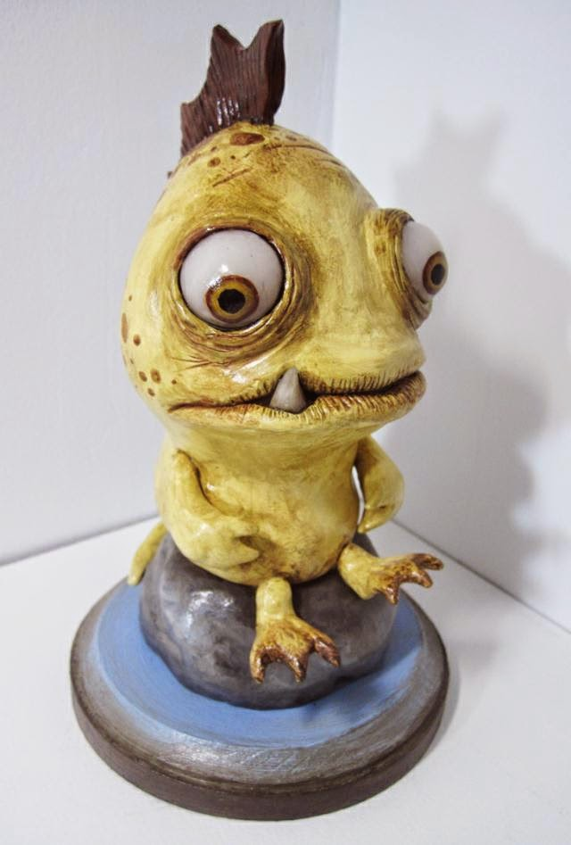 11-Lonely-Sea-Monster-Deanna-Molinaro-aka-Chickenshoot-Odd-Clay-Sculptures-www-designstack-co