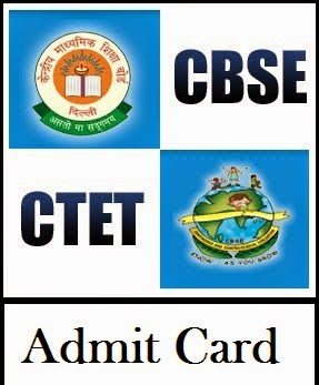 CBSE CTET Admit Card