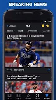 تحميل theScore: Live Sports News, Scores, Stats & Videos v19.5.0