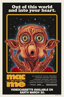 Mac and Me Movie Poster Screen Print by Marc Schoenbach x Bottleneck Gallery