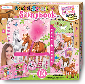 SmitCo Scrapbook Gift for Girls |  Lusterhood