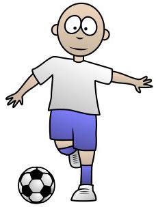 Super Simpel Menggambar Pemain Sepakbola Belajar Menggambar