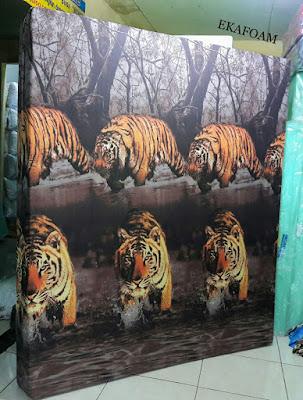 Kasur inoac motif macan