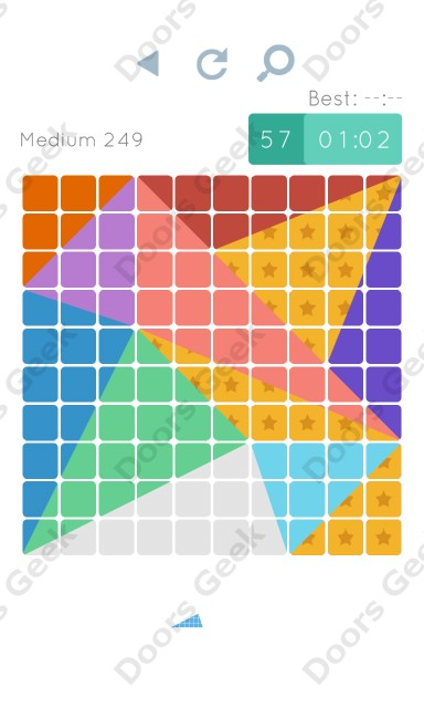 Cheats, Walkthrough for Blocks and Shapes Medium Level 249