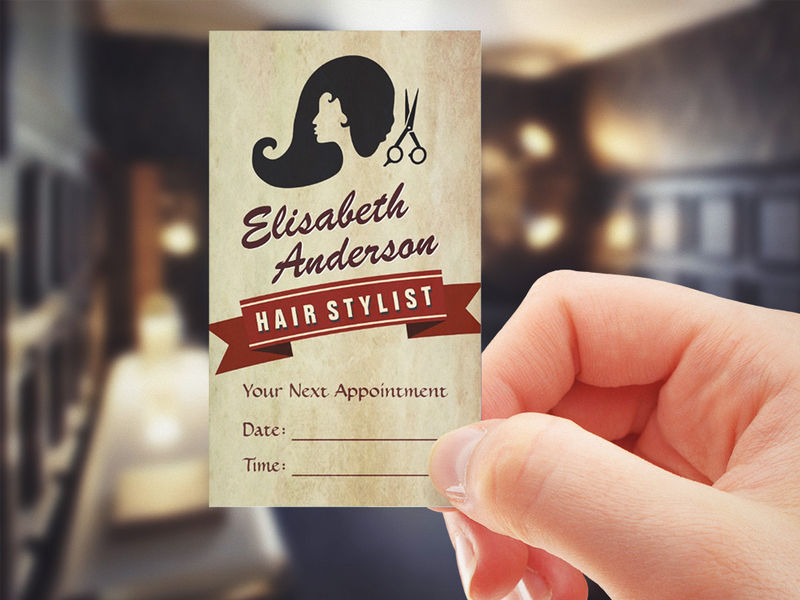 Salon Business Cards - Business Card Tips