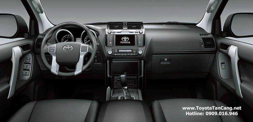 toyota land cruiser prado 2015 toyota tan cang 9 - Toyota Land Cruiser Prado 2015 giá bao nhiêu? Xe nhập khẩu từ Nhật Bản - Muaxegiatot.vn