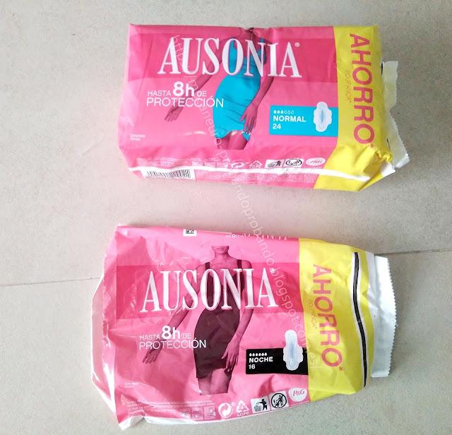 Compresa Ausonia con alas, normal y noche