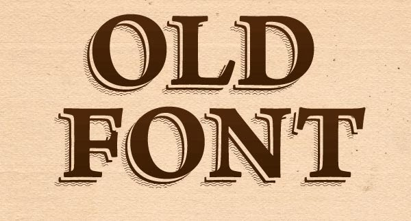 How to Create an Old Font Text Effect