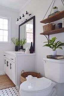 Farmhouse Bathroom Decor In Budget