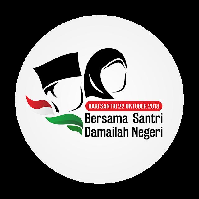 Logo Hari Santri Nasional Tahun 2018 cdr